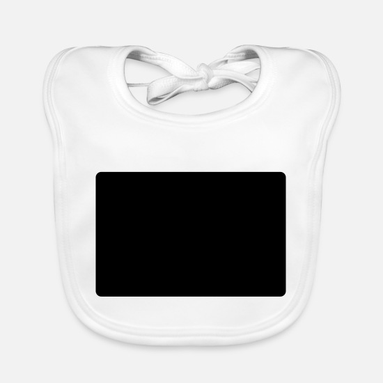 Hello Baby Clothes - hello my name is kalvin - Baby Bib white