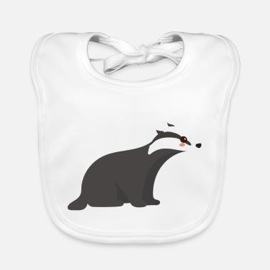 Badger - Baby Bib