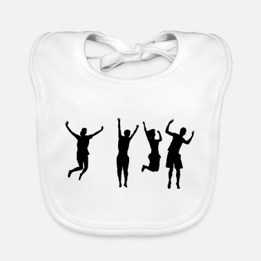 Male Friend Or Female Friend friends - Baby Bib