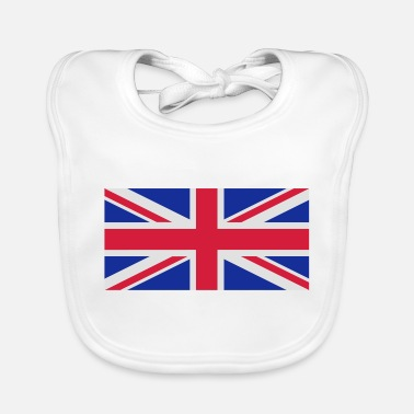 Flag British flag - Baby Bib