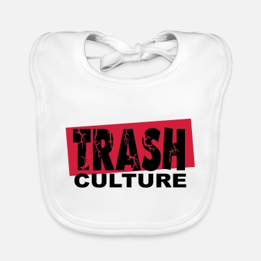 Undergound trash culture - Baby Bib