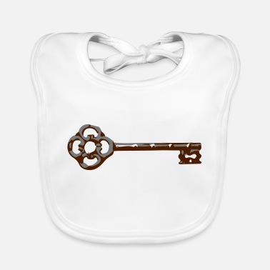 Ancient ancient key - Baby Bib
