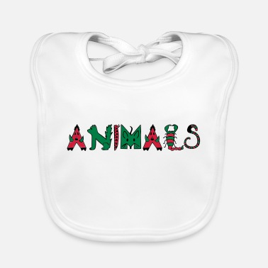 Animal Animals - Animals - Baby Bib