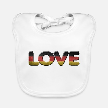 German GERMAN - Baby Bib