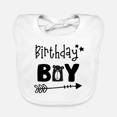 Birthday Birthday Boy - Boys Birthday Birthday Party - Baby Bib