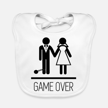Stag Do Game over - Stag do - Hen party - Funny - Baby Bib