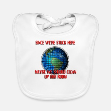 Clean Up Time to Clean up! - Baby Bib