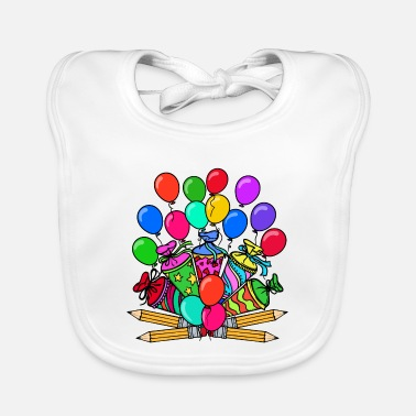 School School School Day School Child School Beginning School Bag - Baby Bib