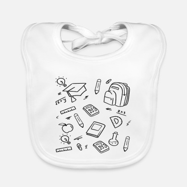 Start Of School School First day of school start of school start - Baby Bib