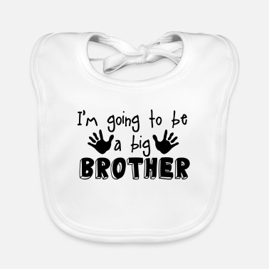 Brother big brother - Baby Bib