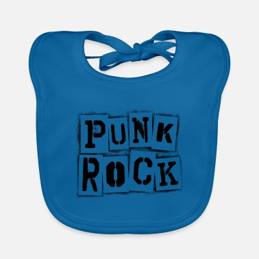 Punk Punk rock punk rocker punk rock rocker grunge metal - Baby Bib