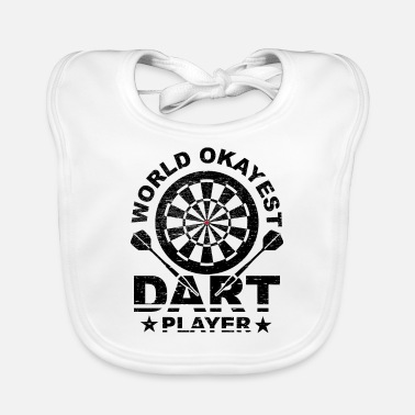 Bar-pub World, Darts, Okay, Bar, Pub, Evening, Gift Idea - Baby Bib