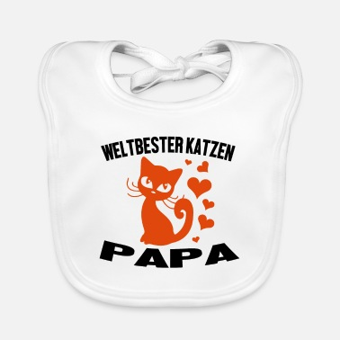 Cats Shirt · Hearts · Worlds Best Gift - Baby Bib