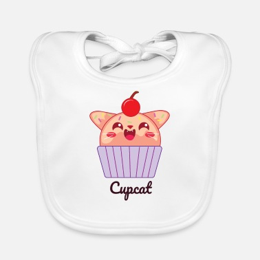 Cupcake Cat Cute Cupcat Kawaii Manga Kitty - Slabbetje