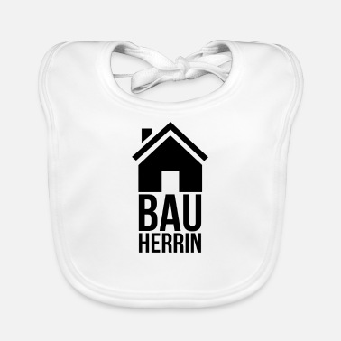 House Building house building - Baby Bib