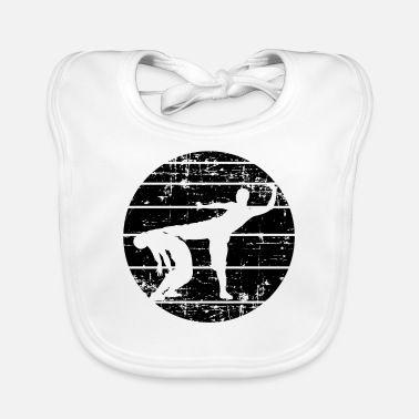 Martial Artists martial artists - Baby Bib