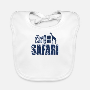 Tourism Safari tourism - Baby Bib