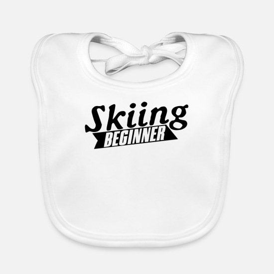 Gift Idea Baby Clothes - beginners - Baby Bib white