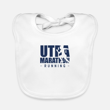 Ultramarathon Run Ultra marathon runners Ultramarathon run races - Baby Bib