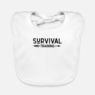 I Love It Survive Bushcraft Wilderness Survival Prepper - Baby Bib