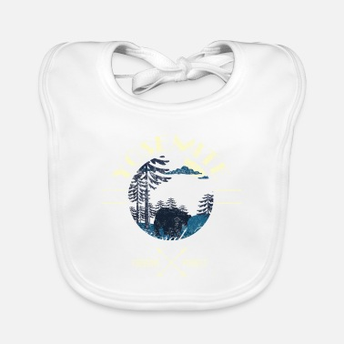 Helped Dome Preserve Protect Yosemite National Park - Baby Bib