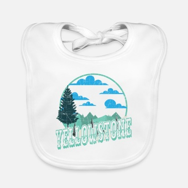 Helped Dome Yellowstone National Park Outdoor Hiking - Baby Bib