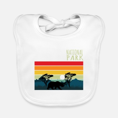 Helped Dome Nature Lover Yosimite National Park - Baby Bib