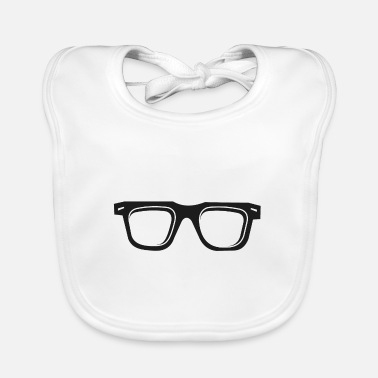 Glass Glasses glasses - Baby Bib