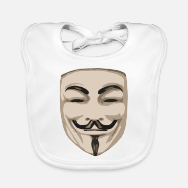 Politique Mask - anonyme - Baby Bib