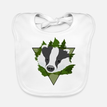 Badge Den badger frække badger - Hagesmæk