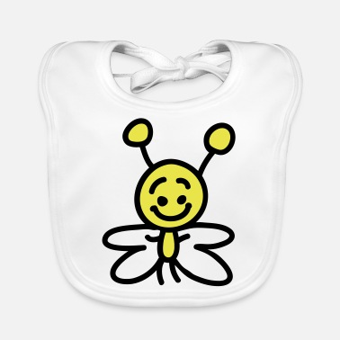 Small small butterfly - Baby Bib