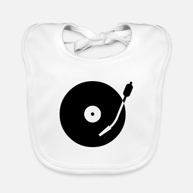 Cool turntable - Baby Bib