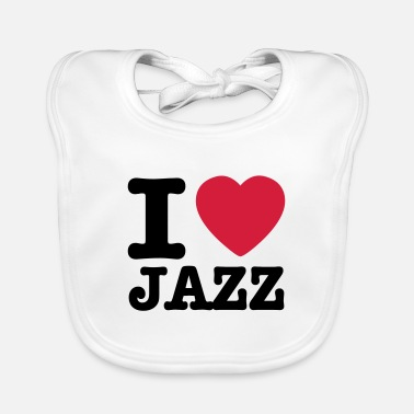 Jazz I love jazz / I heart jazz - Slabbetje