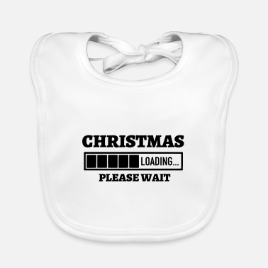 Melt Matching Family Christmas Loading Please Wait - Baby Bib