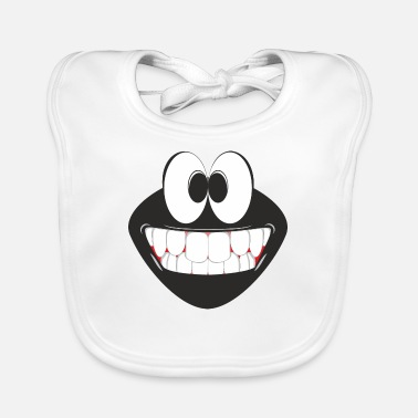 Breitbart Smiling Emoticon - Baby Bib