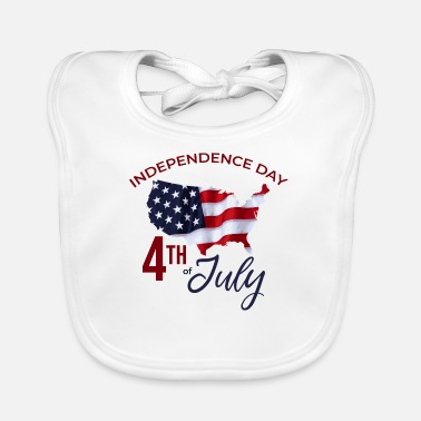 Independence Independence - Baby Bib