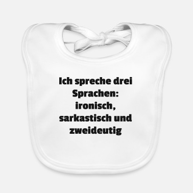 Language languages - Baby Bib