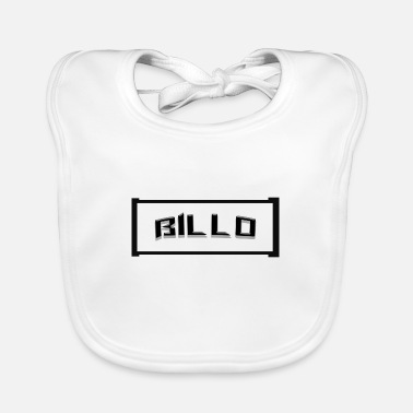 Letter Boxing Cool Billo lettering in a box - Baby Bib