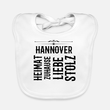 Hannover Lower Saxony Football gift cool 96 - Baby Bib