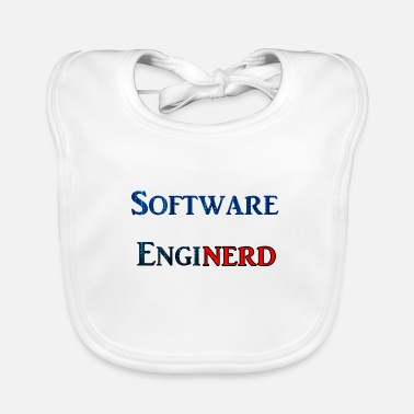 Software Software Enginerd - Baby Bib