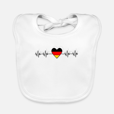 German Germany German German Gift - Baby Bib