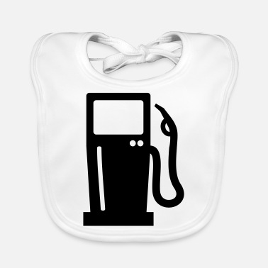 Gas Gas station - Baby Bib