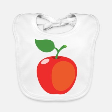 Kawaii Apple - Baby Bib