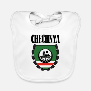 Proud Chechen Cool Chechen Flag, Chechnya Holiday, Proud Chechen - Baby Bib