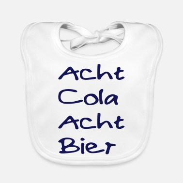 Eight Eight eight-Cola Beer - Baby Bib