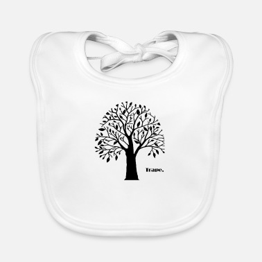 Tree life nature - Baby Bib