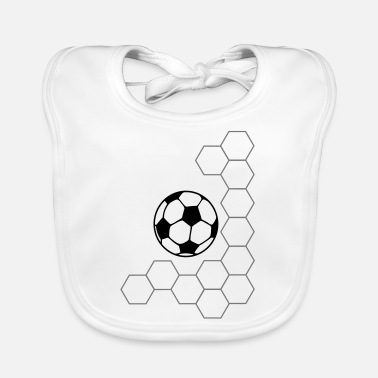 Net football net - Baby Bib