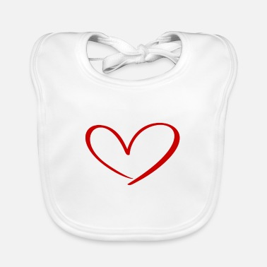 Life Hearts Against Hate 315 - Baby Bib