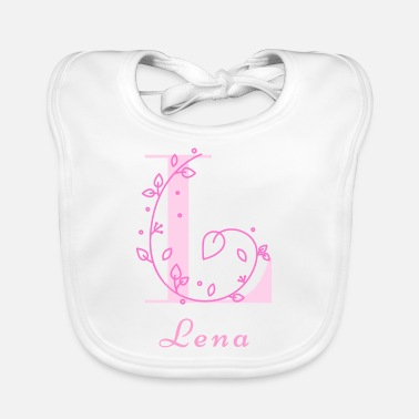 Name Day Lena name for daughter maiden name name day - Baby Bib