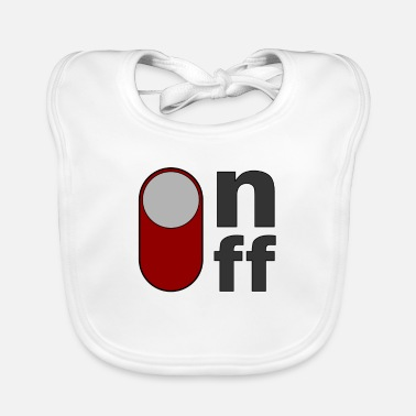 Off on off off on - Baby Bib